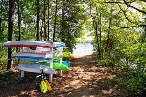 Lesstor Heavy Duty Commercial Kayak, SUPs, Canoe Storage Racks