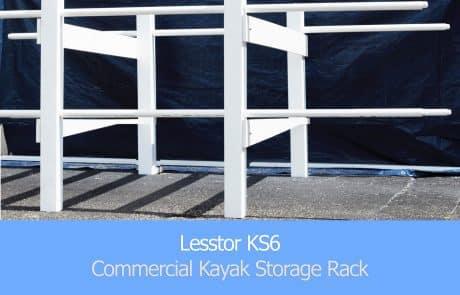Lesstor KS6 Commercial Kayak Storage Rack